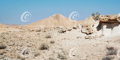 Hod Akev Mountain in the Zin Wilderness in Israel