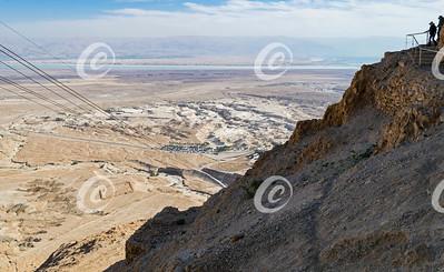 Top of the Masada Snake Path