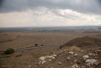 Jezebel Valley as seen from Megiddo