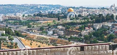 East Side of Jerusalem Temple Mount