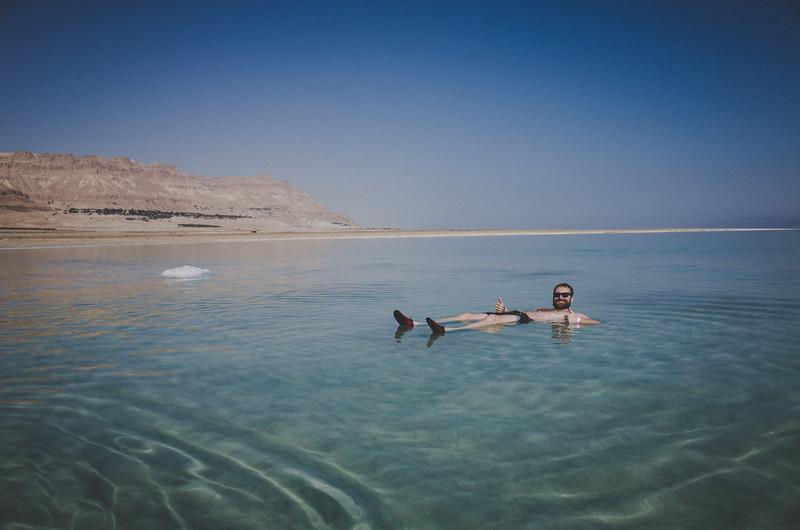 Im Toten Meer