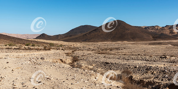 Basalt Hill Named for Israeli Astronaut Ilan Ramon in the Makhtesh Ramon Crater