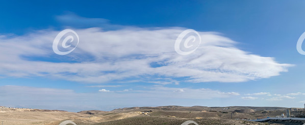 Clouds Over the Judaean Desert