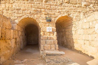 Entrance to Caesarea Theater