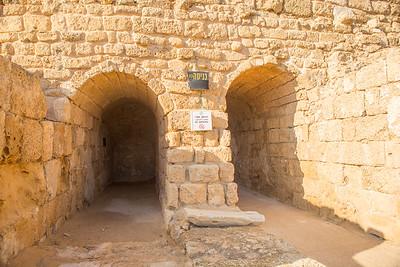 Entrance to Caesarea Theater