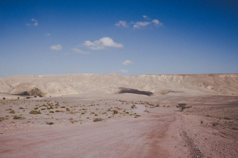 Auf dem Weg zum Red Canyon