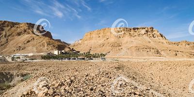 Masada Fortress near the Dead Sea