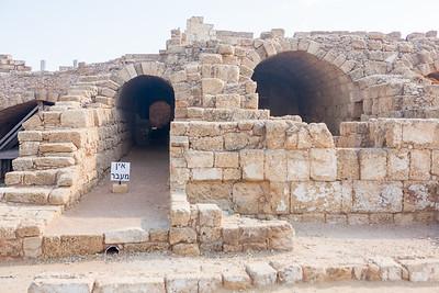 Palace Vaults in Caesarea