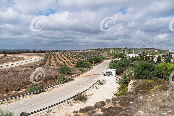 An Israeli Checkpoint into the Gush Etzion Region of the West Bank
