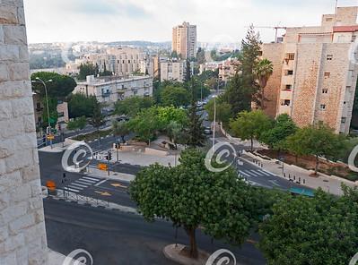 Dawn in Downtown Jerusalem