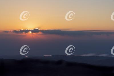 Landscape: Sun and Clouds