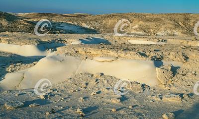 The Nitzana Israel Chalk Hills