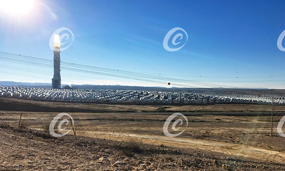 Solar Power Tower in the Negev