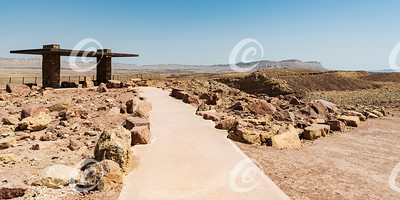 New Accessible Overlook Viewpoint in the Makhtesh Ramon Crater in Israel