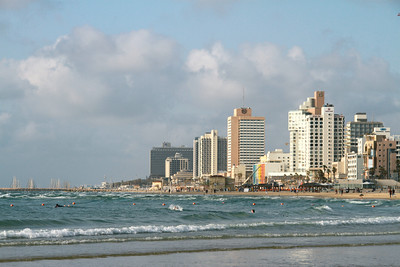 Tel Aviv by the sea
