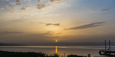 Sunrise at the Sea of Galilee