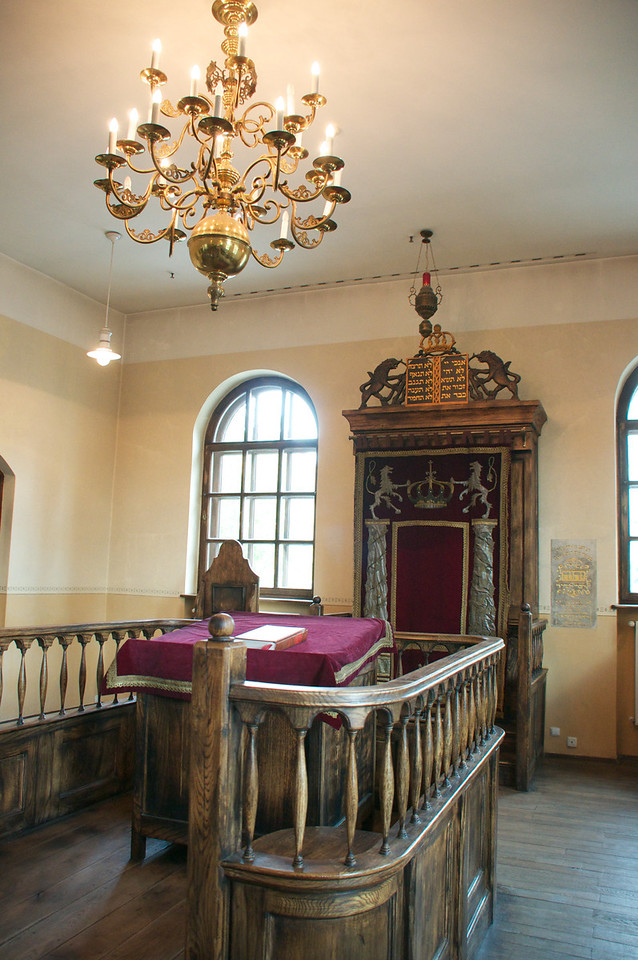Synagogue at Oswiciem Jewish Center.