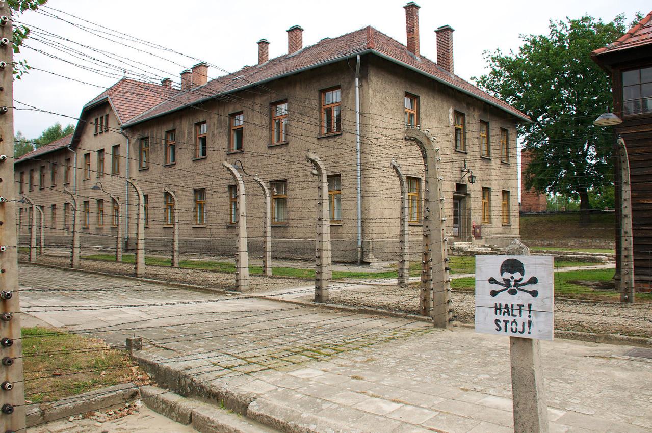 Administrative buildings (i e Gestapo).