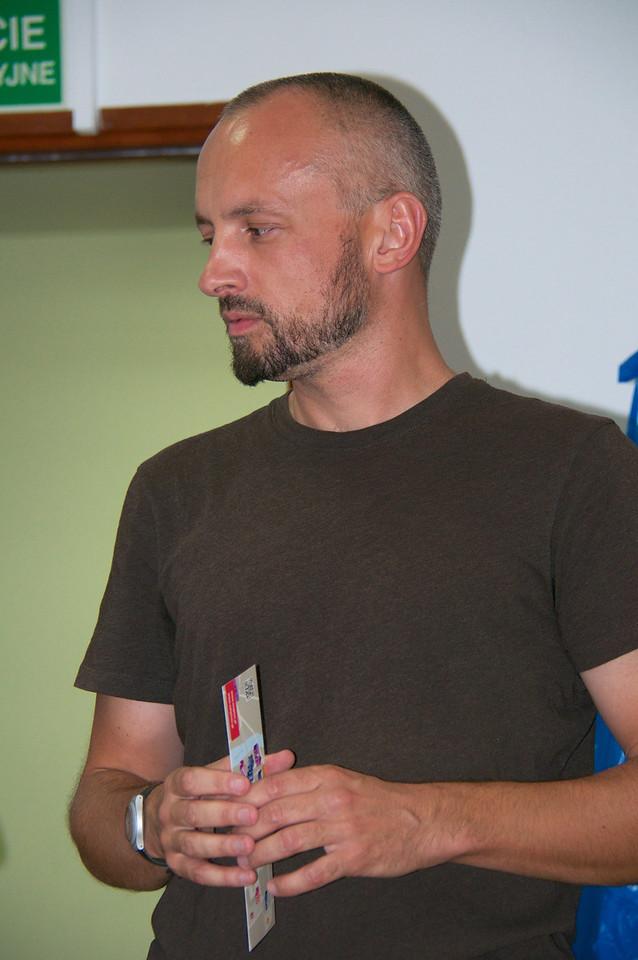 Tomasz Kuncewicz, Director of Oswiciem Jewish Education Center.