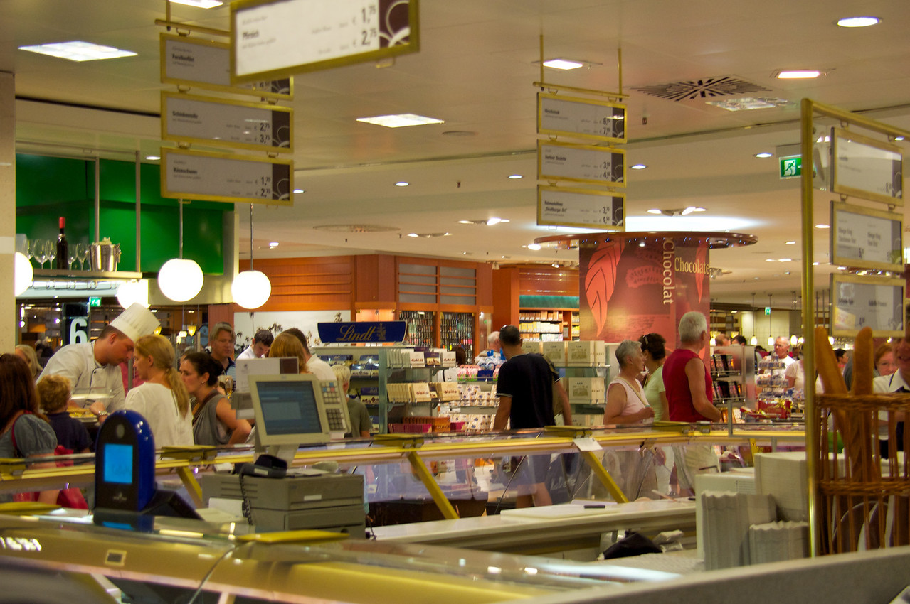 Food Hall at KaDaWee (largest department store in Europe).
