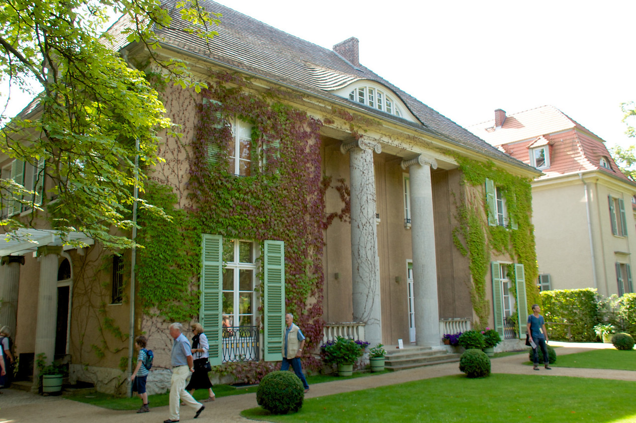 Wannsee home of Max Liebermann a German-Jewish painter and printmaker, and one of the leading proponents of Impressionism in Germany.