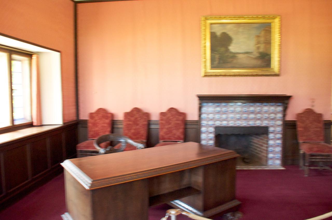 Stalin's desk.