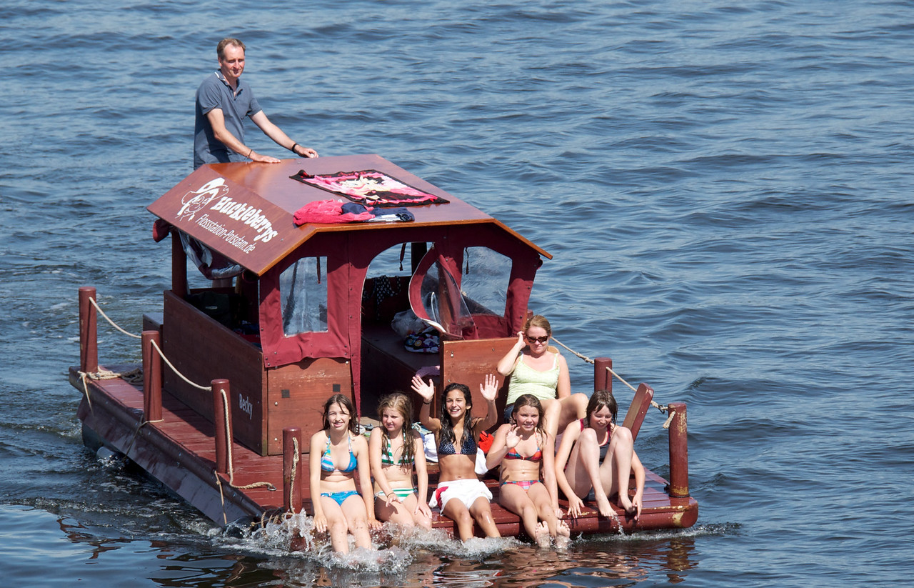 More locals on the Havel River.
