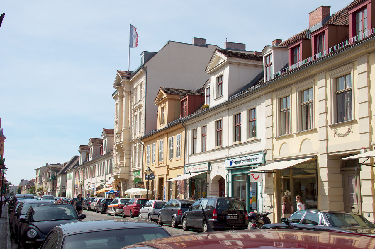 Side street of Potsdam.