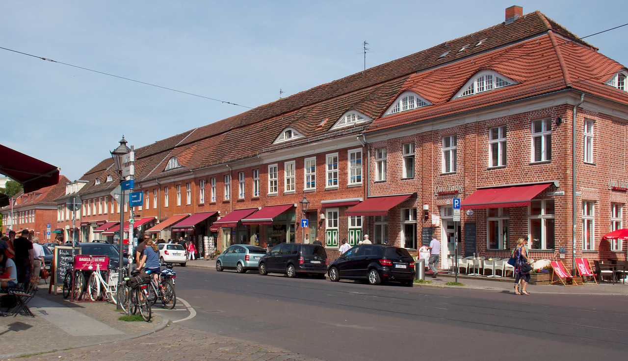 Potsdam's main street.
