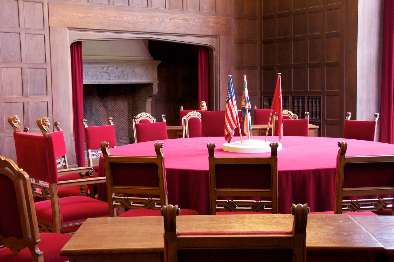 Room where Potsdam Conference took place.