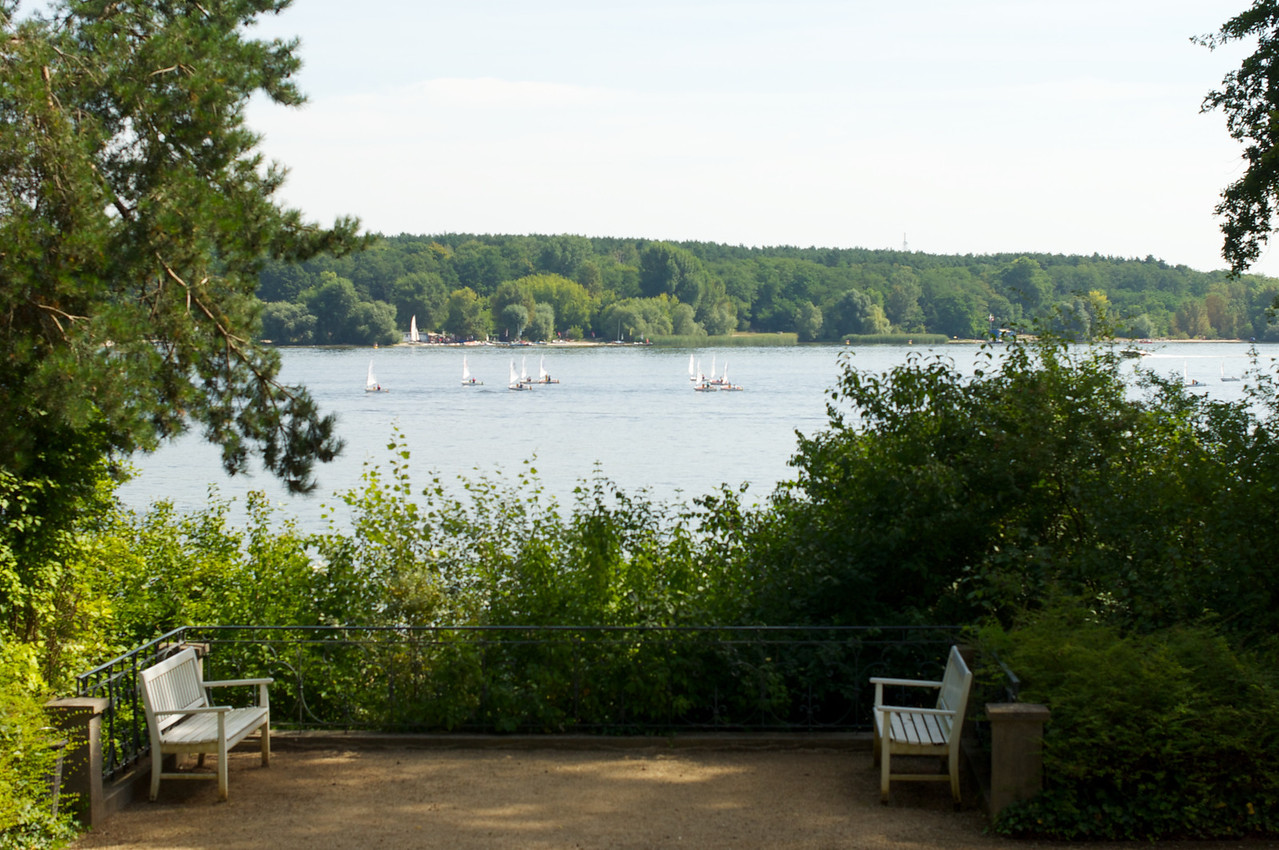 View from the patio at House of The Wannsee Conference.