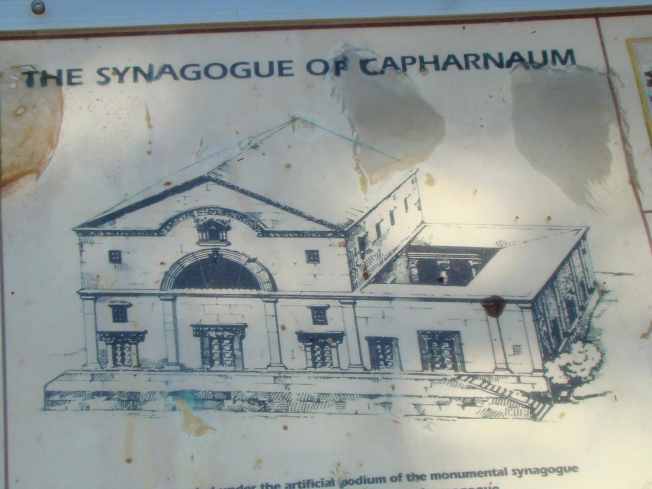 Synagogue Capharnaum
