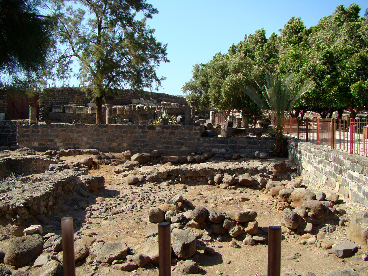 Ruins Capharnaum