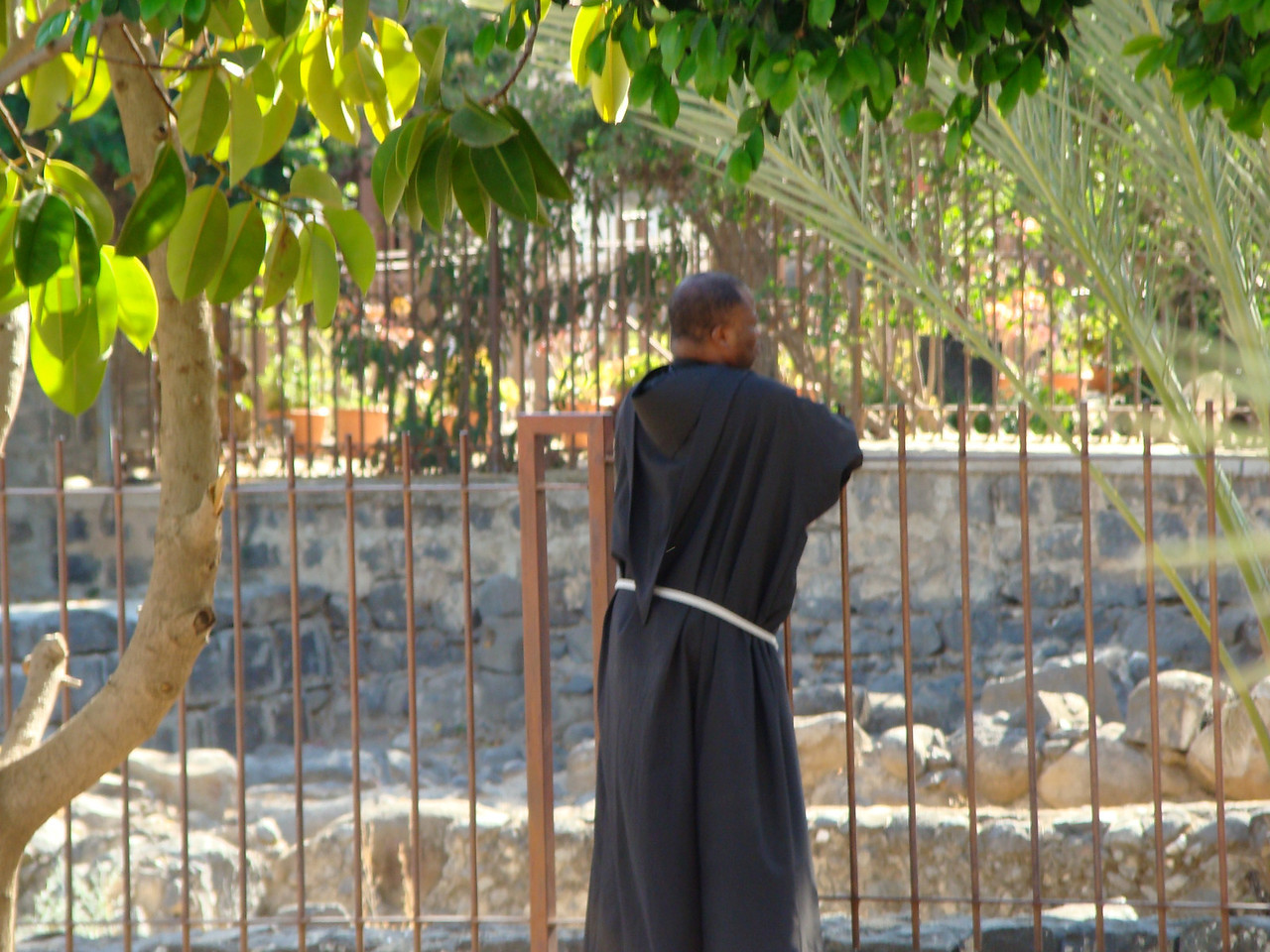 Priest at Capharnaum