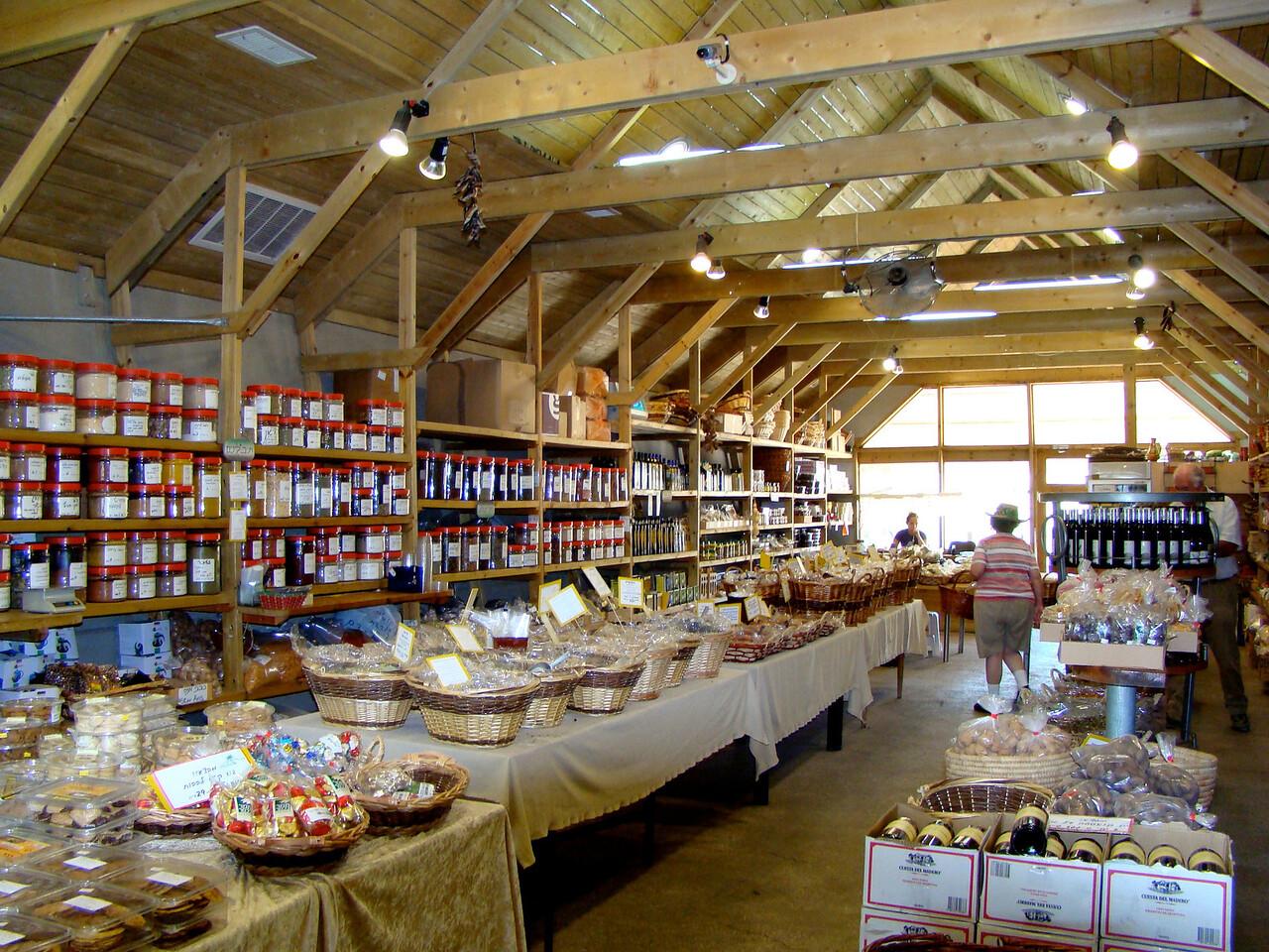 Inside Date-Herb Market