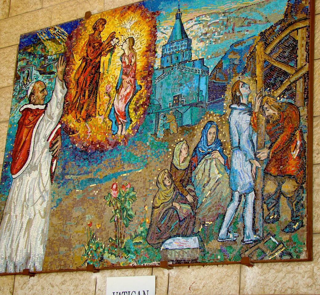 Vatican Plaque