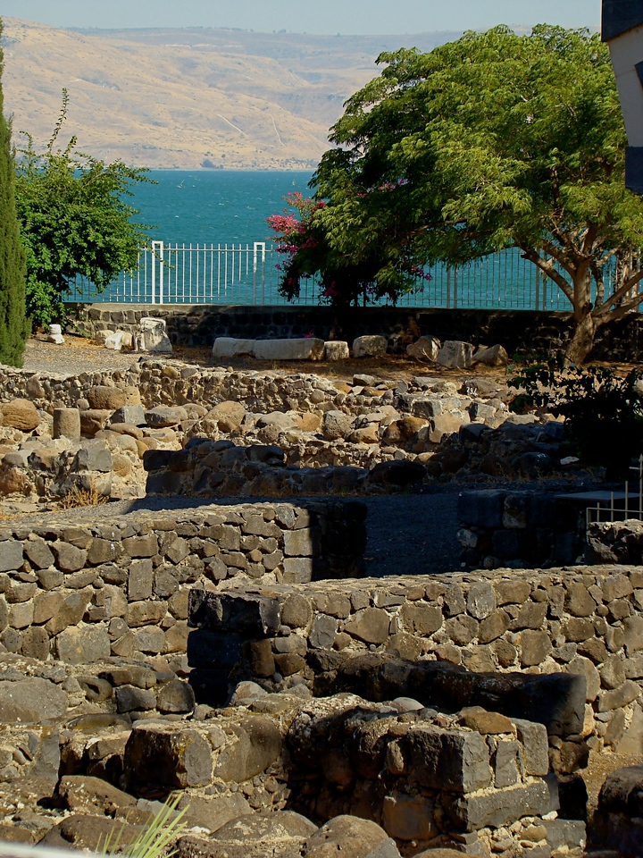 White Synagogue looking out to Galilee