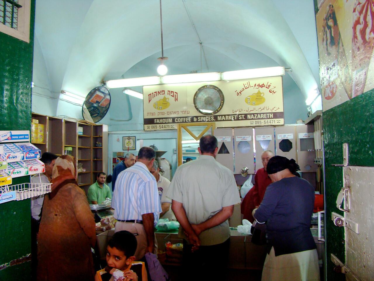 Nazareth Market-Coffee House-Market