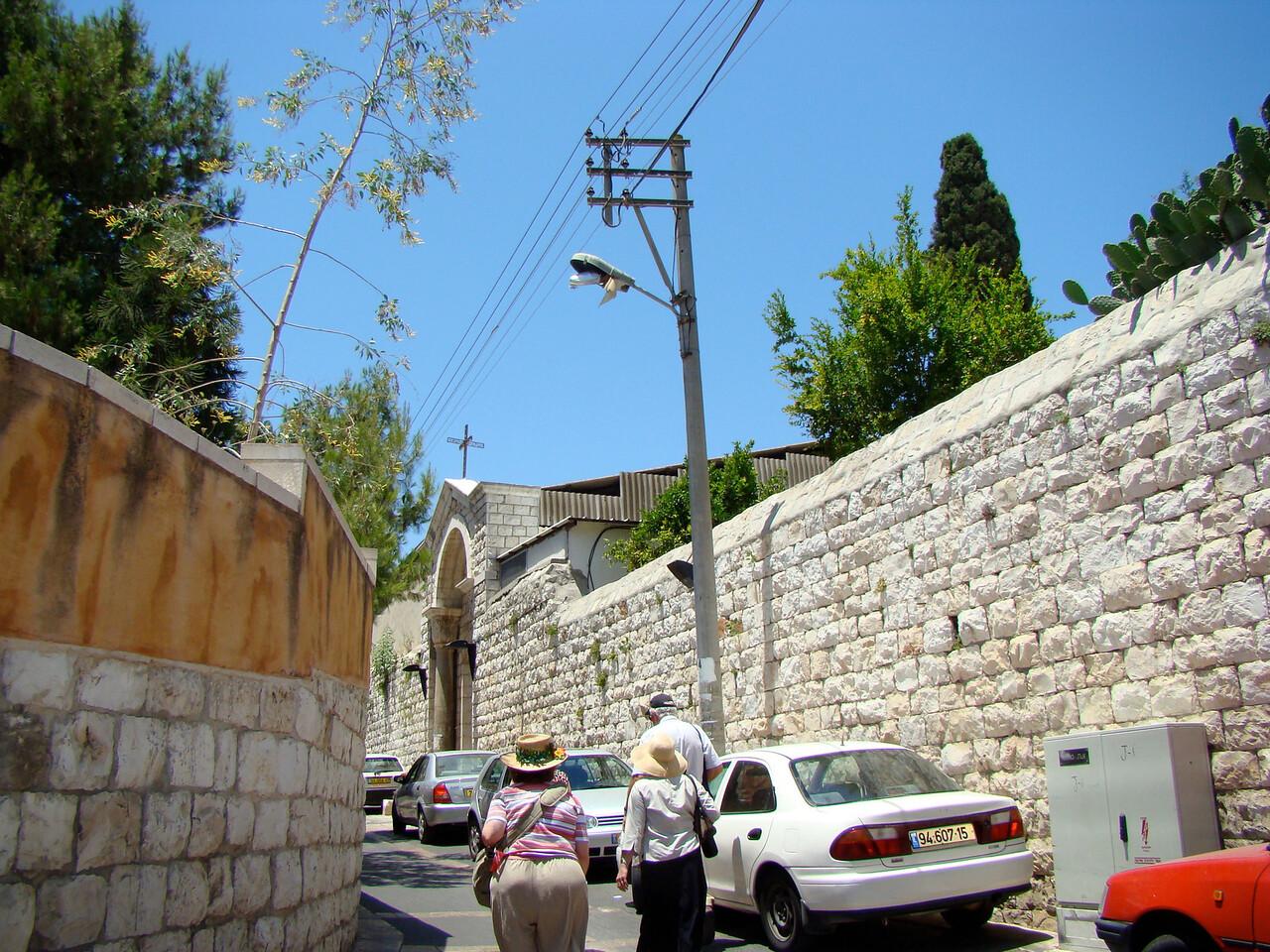 Nazareth Cemetery Entrance