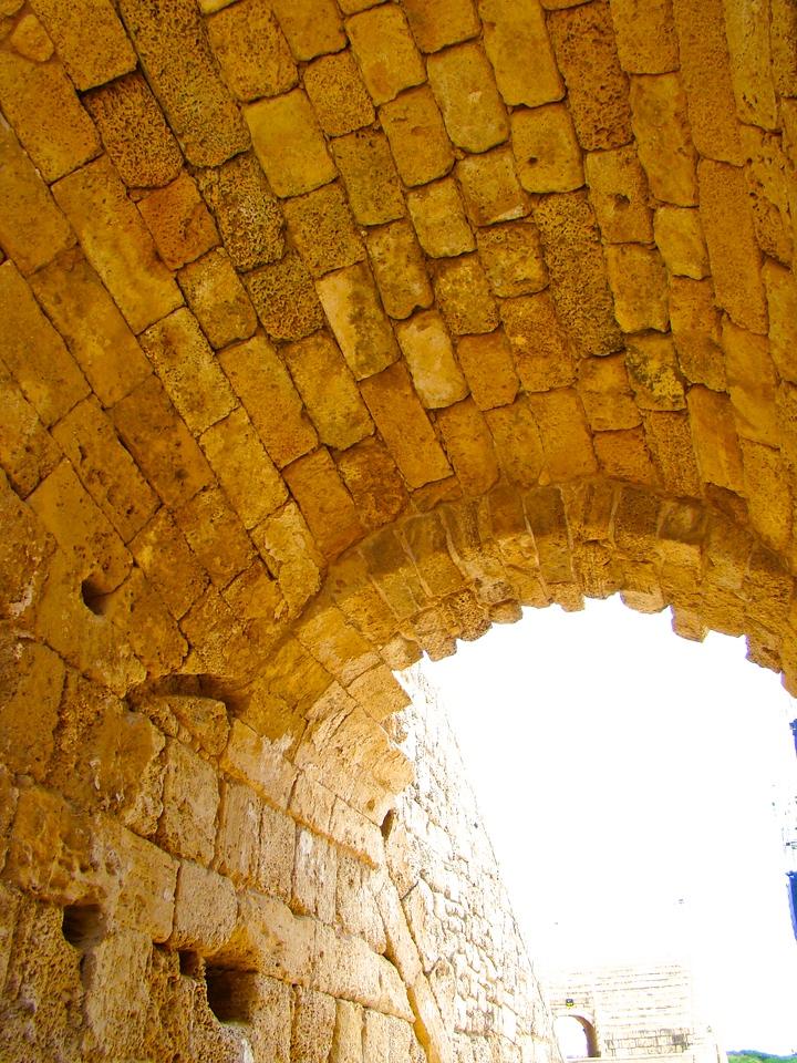 Caesarea-Roman Theatre Original Stone (1)