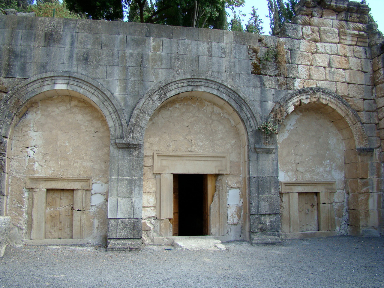 Doors to Burial Cave (1)