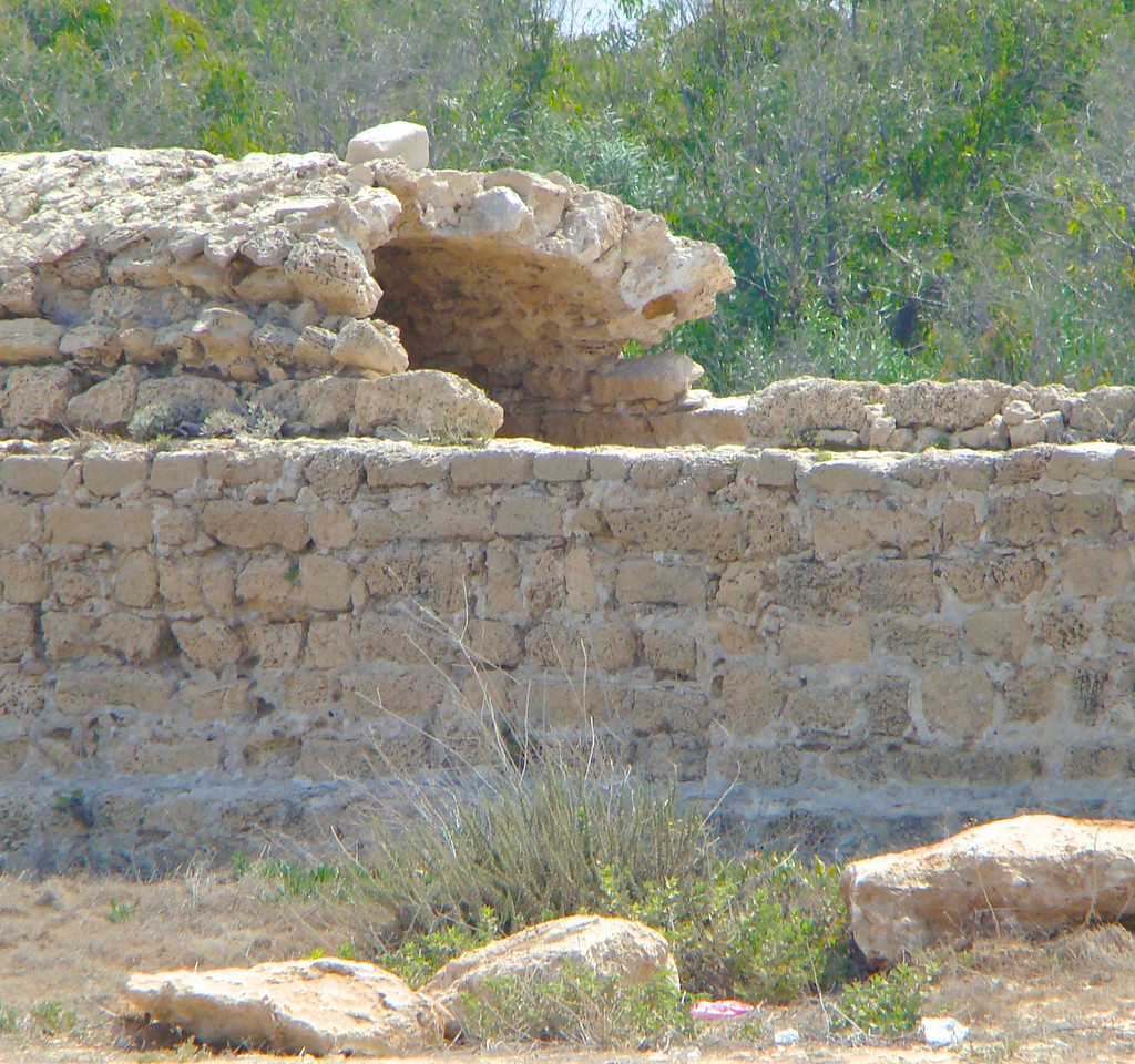 Caesarea-Aquaduct for Spring Water (1)