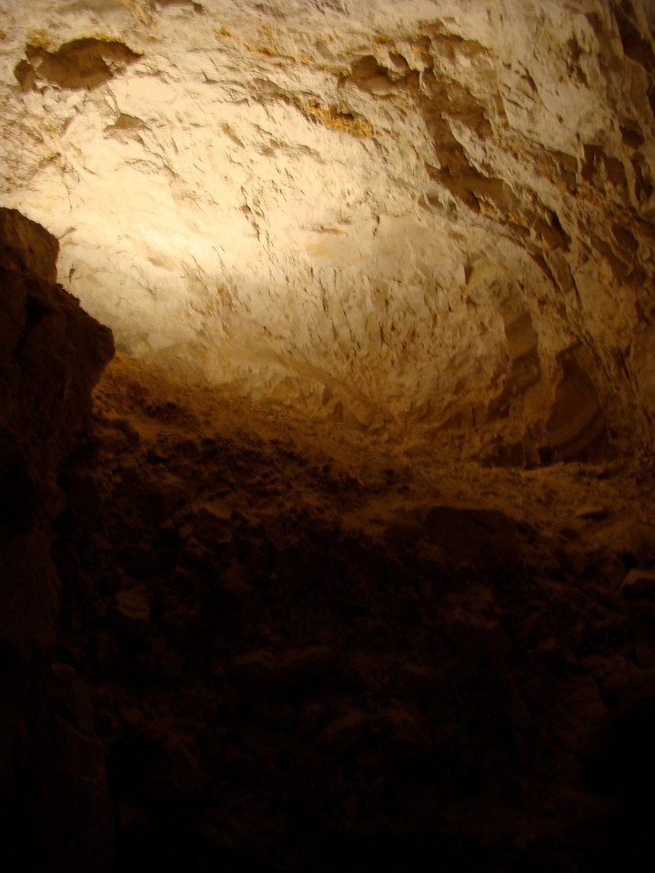 Inside Burial Cave