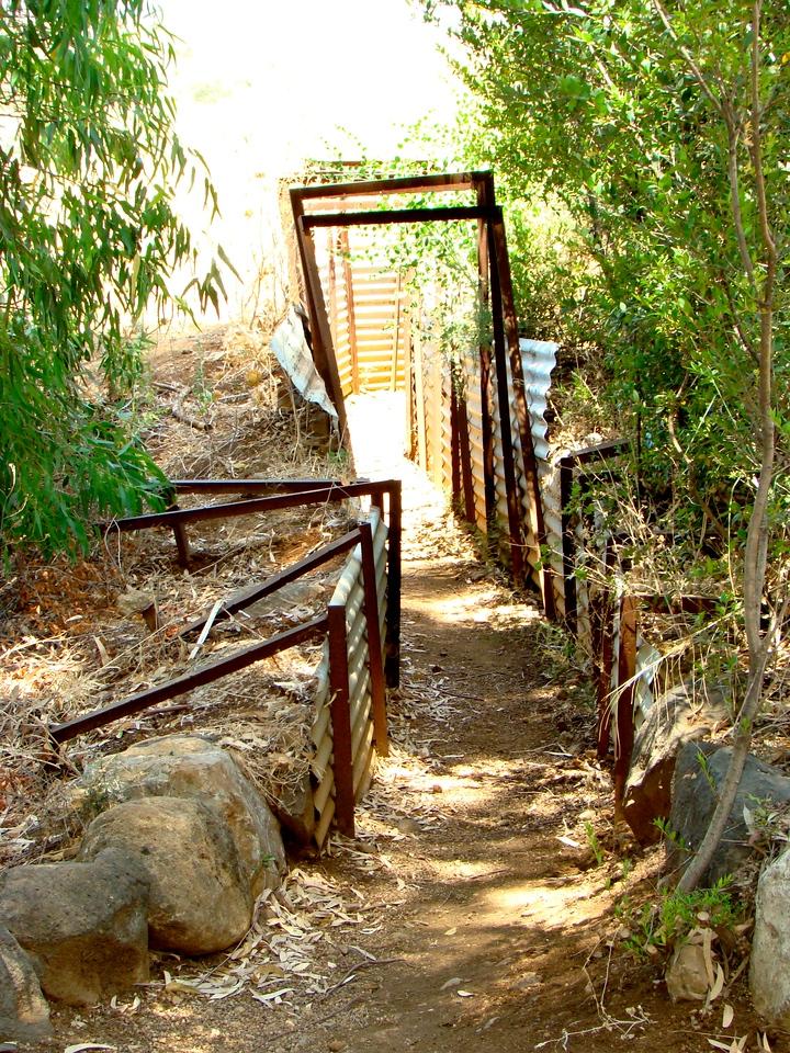 Tel Dan-Israeli Bunker Entrance
