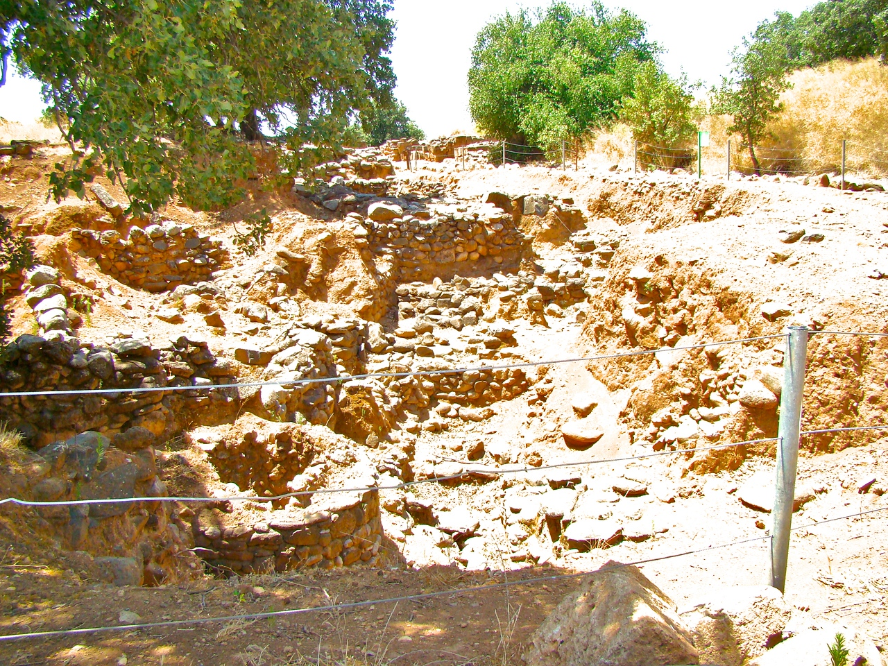Tel Dan-Multiple Layers of Excavation, more for future excavations (1)