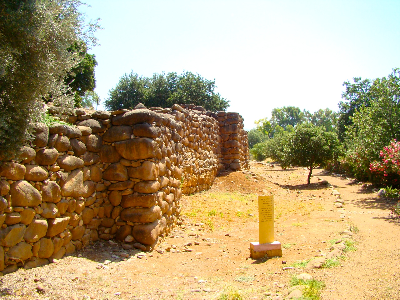 Tel Dan-Israelite Addition to Rampart (1)