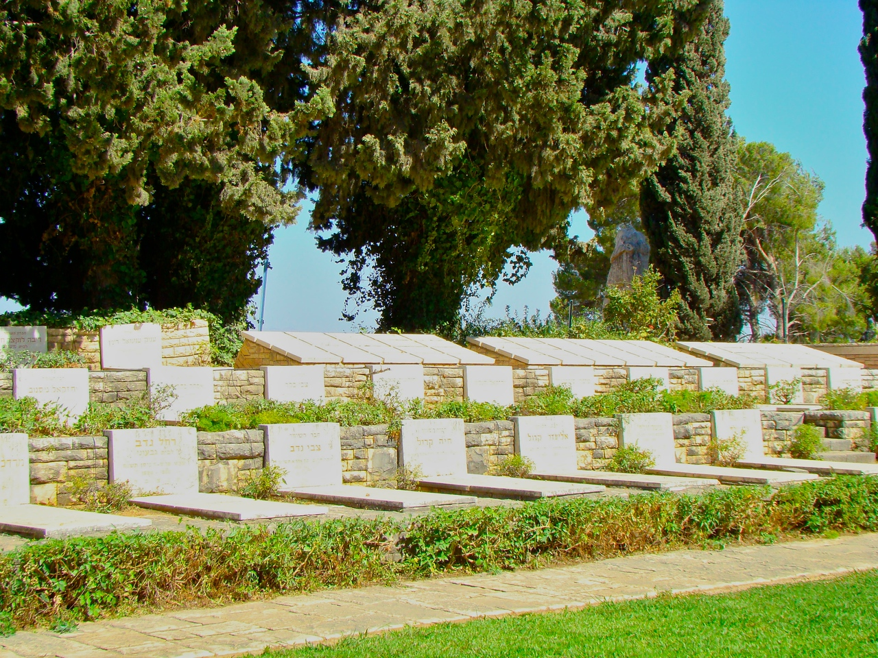 Tel Hai Cemetery-Members of HaShomer, Back Markers Members who are buired some place else (1)