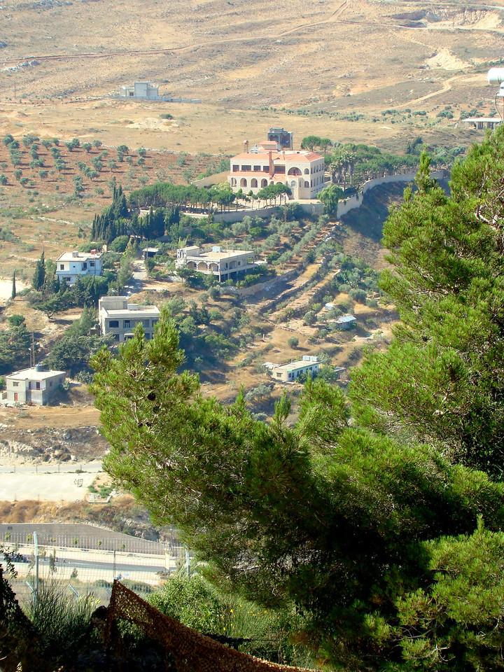 Kibbutz Miz Gav Am- Lebanon from Kibbutz 2