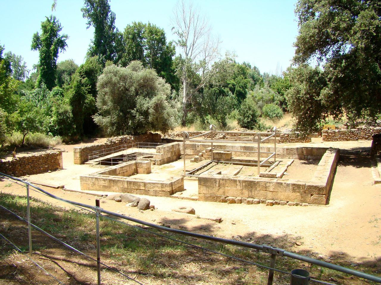 Tel Dan-Sacred Area(Wall, Altar, Priest Chambers)