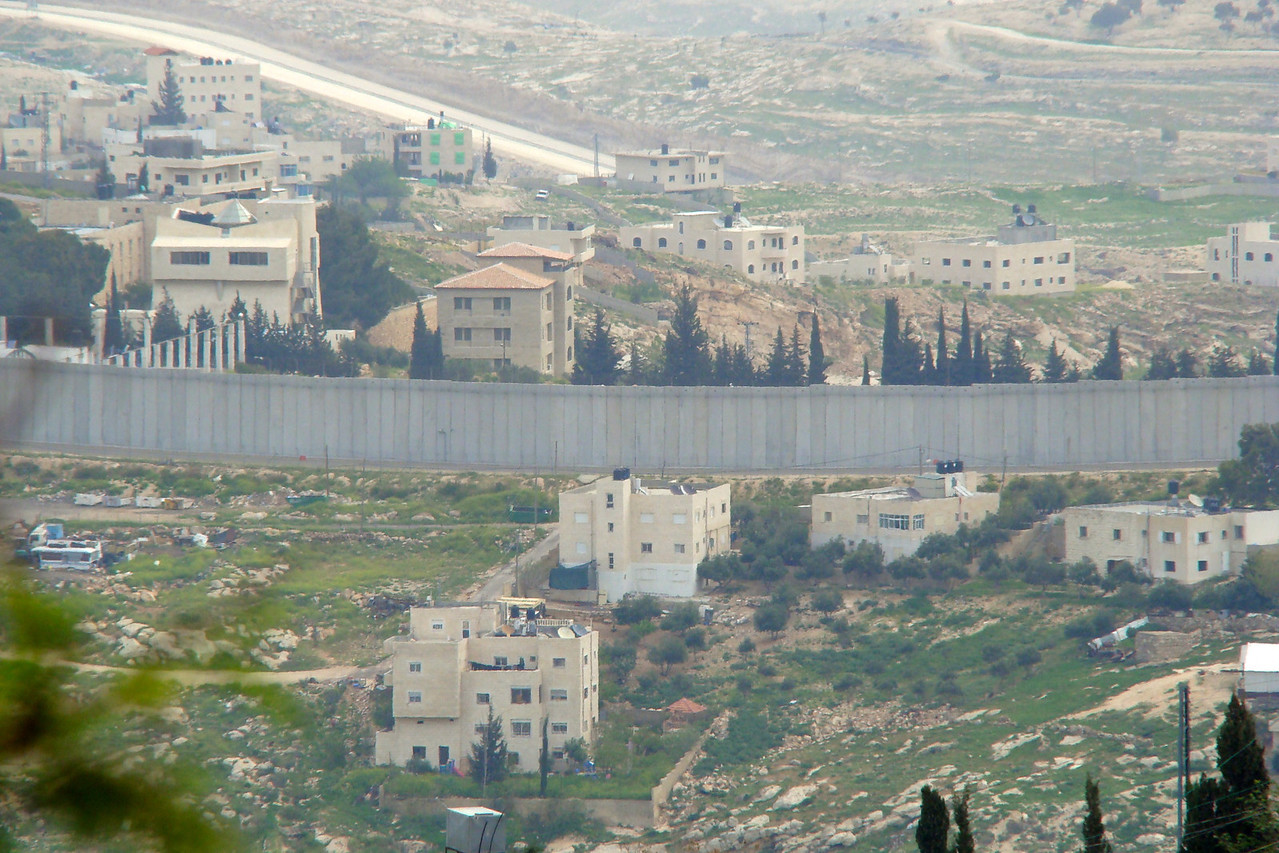 Separation Wall-Arab Area on Other far side